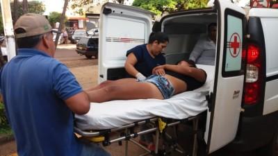 Homem atira para 'assustar' esposa, acerta vítima e é preso em flagrante em Dourados
