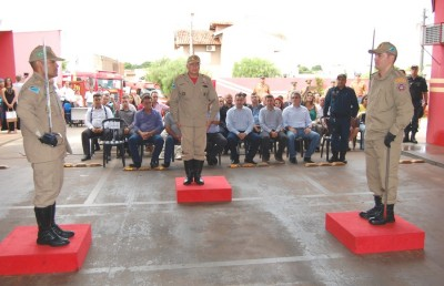 Durante solenidade, major Pablo assume comando do Corpo de Bombeiros de Nova Andradina