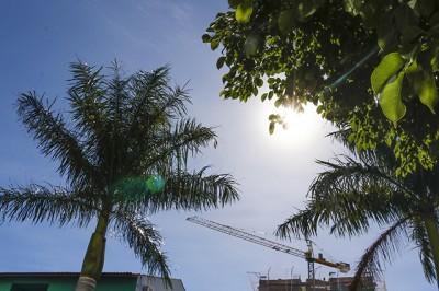 Calorão não dá trégua e pode vir acompanhado de chuva forte em regiões de MS
