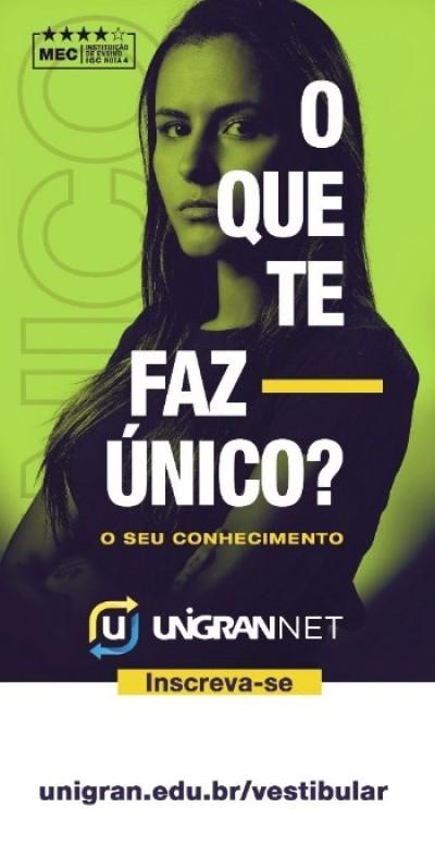 É sábado vestibular Unigran Net 2019 em Jateí
