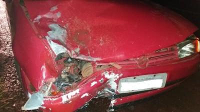 Motociclista sofre traumatismo e fica inconsciente em acidente entre Vicentina e Fátima do Sul