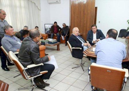 A Prefeito e Vereadores de Vicentina, DNIT se compromete em aplicar medidas preventivas na BR-376; Manifestação de sexta-feira foi cancelada