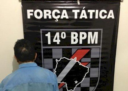 Em Vicentina, briga por causa de pé de barbatimão termina com um idoso esfaqueado e outro preso pela Força Tática