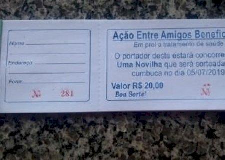 Rifa beneficente em prol a Andressa Porangaba está sendo vendida; Sorteio é sábado
