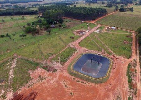 Sanesul investe em esgotamento sanitário de Novo Horizonte do Sul