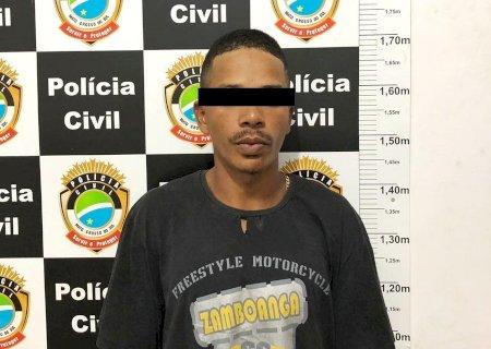 Acusado de praticar crimes contra mais de 26 comércios em Nova Andradina e Batayporã é preso pela Polícia Civil