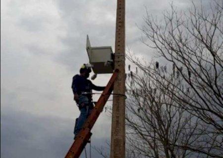 Começa a instalação de câmeras de vigilância em Caarapó