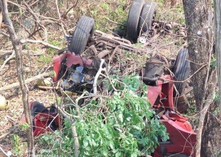 Acidente na serra de Maracaju mata morador em Nova Andradina e deixa outro em estado grave