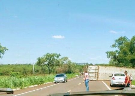 AGORA: acidente com morte na rodovia BR-267 entre Nova Alvorada do Sul e Nova Casa Verde