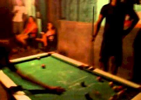 Nova Andradina: Jogo de sinuca termina em briga e homem ferido a tiros por caminhoneiro