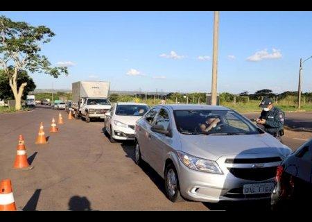 Barreiras sanitárias em Campo Grande começam a operar amanhã; saiba como vai funcionar