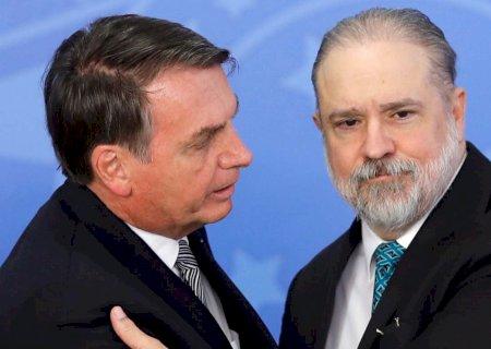 Bolsonaro: Se aparecer uma terceira vaga no STF, Augusto Aras entra fortemente