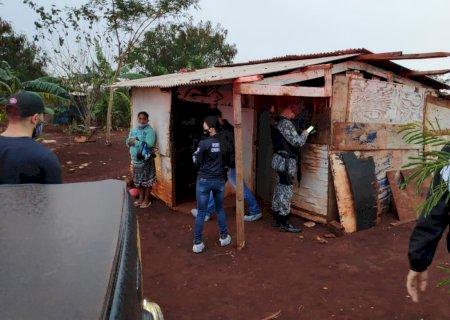 Homem é assassinado dentro de barraco em comunidade de Dourados
