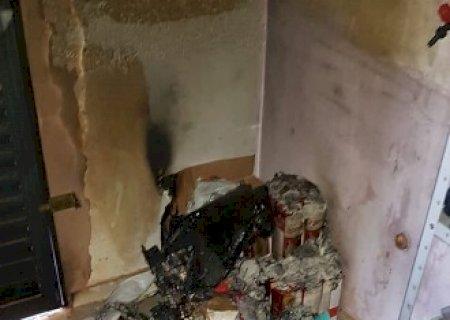 Polícia Civil identifica autor do incêndio na loja \'Vem que Tem\' em Jateí