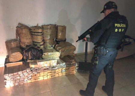 Polícia fecha depósito do tráfico e encontra quase R$ 160 mil em dinheiro na Fronteira