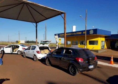 Polícia Rodoviária prende seis traficantes em operação na fronteira