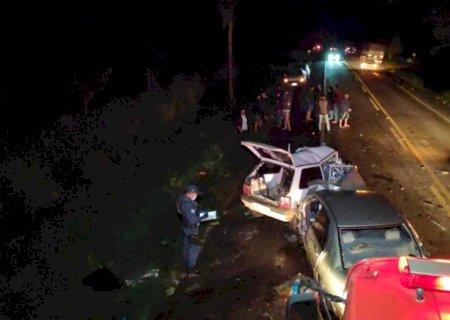 Ultrapassagem pode ter causado acidente que matou duas pessoas em Vicentina
