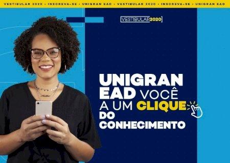 Vestibular on-line é a novidade da Unigran EAD em Jateí
