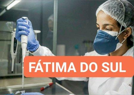 Novos casos são registrados e tem 02 pacientes na UTI, veja o boletim e mapeamento em Fátima do Sul