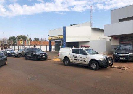 Investigação mostra que bandidos levaram cerca de R$ 1 milhão de agência do BB