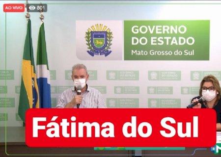 Com 5 mortes por covid-19, Fátima do Sul volta registrar novos casos e tem 02 pacientes na UTI