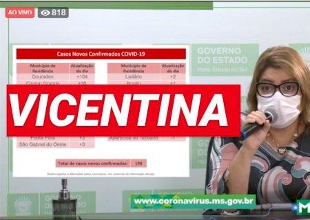 ZERANDO OS CASOS: População tem que manter o isolamento e distanciamento, veja boletim de Vicentina