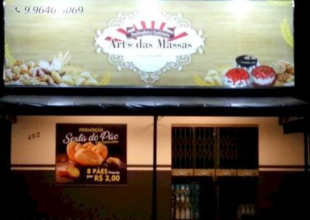 Inauguração da Panificadora e Confeitaria Art\'s das Massas é nesta terça-feira em Vicentina