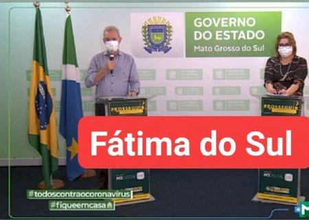 Fátima do Sul sai da lista das 10 cidades com mais casos de covid, cuidados devem ser mantidos