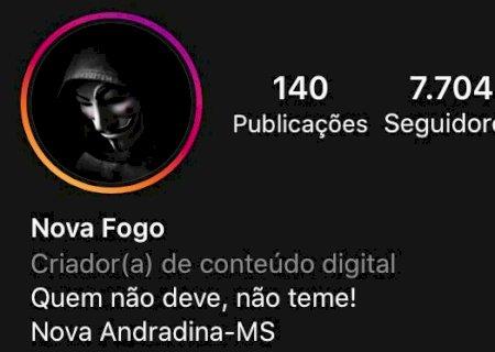 Suspeito de criar perfil fake para difamar pessoas é identificado em Nova Andradina