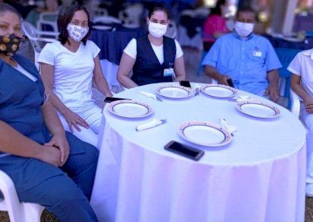 Equipe do Hospital de Amor destaca apoio de Jateí