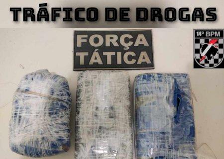 Força Tática prende em Fátima do Sul mulher integrante do PCC que mora em Minas Gerais