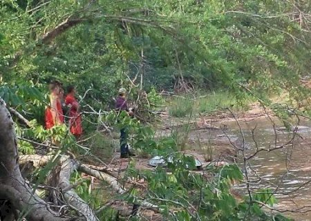 Encontrado corpo de homem que se afogou no Rio Amambaí