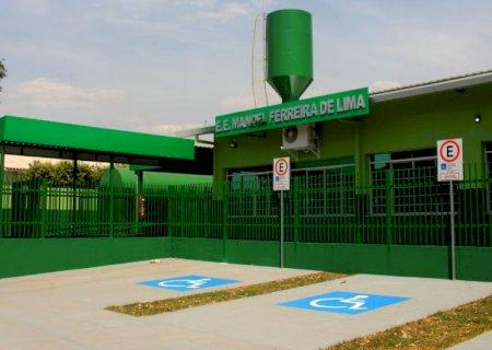 Reinaldo Azambuja entrega reforma e ampliação de escola em Maracaju