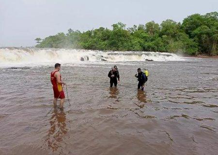 Corpo de homem que se afogou na cachoeira do 'Salto Pirapó' é encontrado