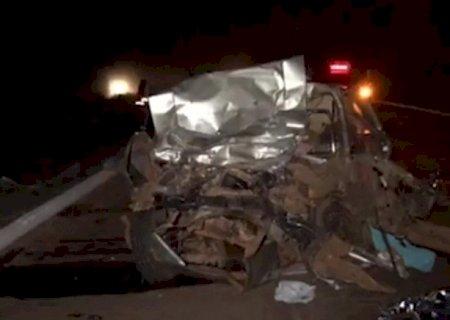 AGORA: Acidente com 6 mortes em Nova Alvorada do Sul
