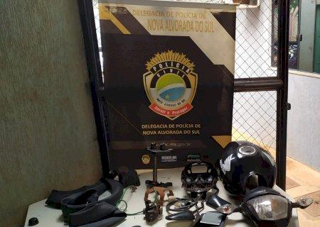 Quatro são presos após furtar peças no pátio do Detran-MS