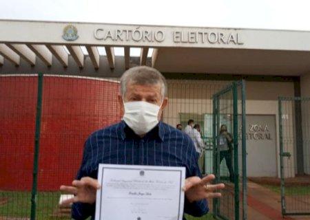 Em 32 anos de militância de Eraldo, a primeira diplomação com máscara