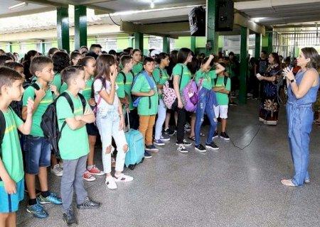Estudantes da Rede Estadual voltam às atividades em março deste ano