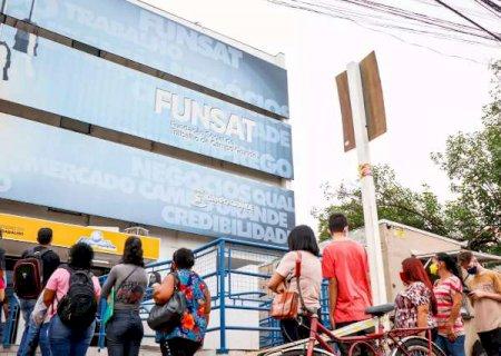 Última semana de janeiro inicia com 587 vagas ofertadas pela Funsat