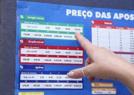 Confira as dezenas sorteadas da Mega-Sena de R$ 22 milhões