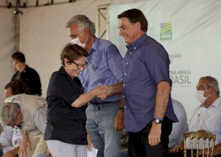 Bolsonaro aposta em Tereza Cristina para retomar diálogo com a China