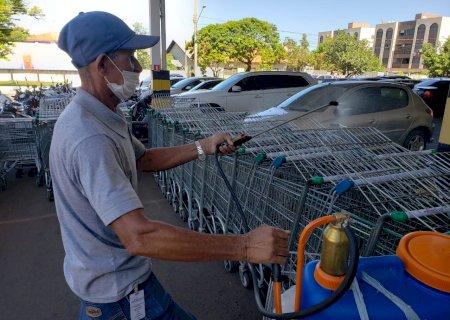 Novo decreto obriga aferição de temperatura em supermercados de Dourados
