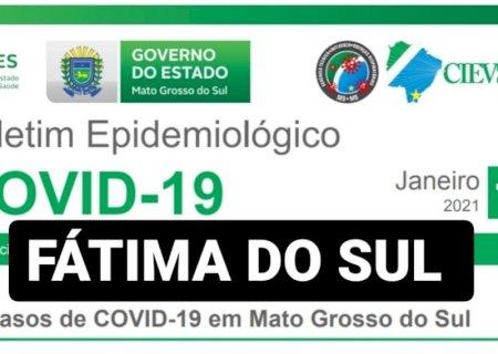 Fátima do Sul confirma mais 01 óbito por covid, é a 3ª morte em 48h em dia de mais 13 positivos