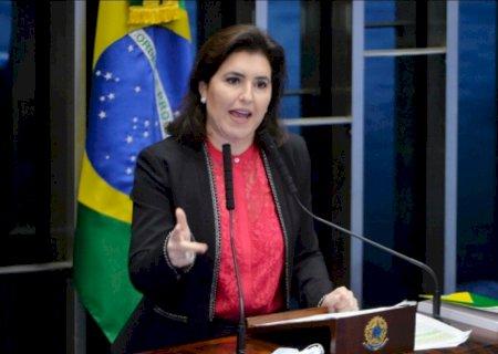 Simone Tebet pode ser candidata ao governo de MS pelo MDB