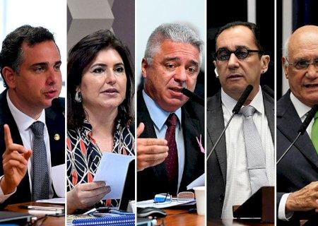 Eleição do presidente do Senado será na tarde desta segunda; Simone e mais quatro disputam