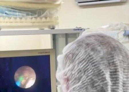 HC de Nova Andradina realiza procedimento inédito para eliminação de cálculo renal