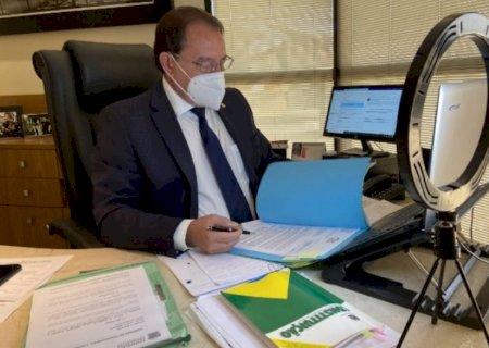 Gerson Claro pede faixas de pedestres elevadas em distrito de Deodápolis