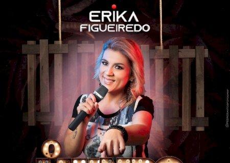 Vicentinense de coração, Érika grava 02 músicas, uma delas para o primo vítima da Covid, Assista