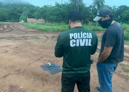 Polícia usa drone para achar e prender suspeito de planejar morte de policial