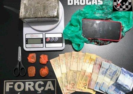 Força Tática prende mulher por Tráfico de Drogas em Deodápolis